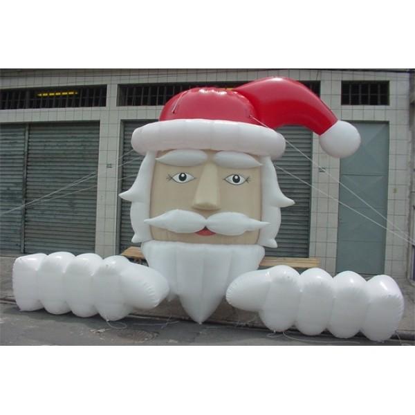 Valor de Papai Noel Inflável  na Chácara Portão do Castanho - Papai Noel Inflável Gigante