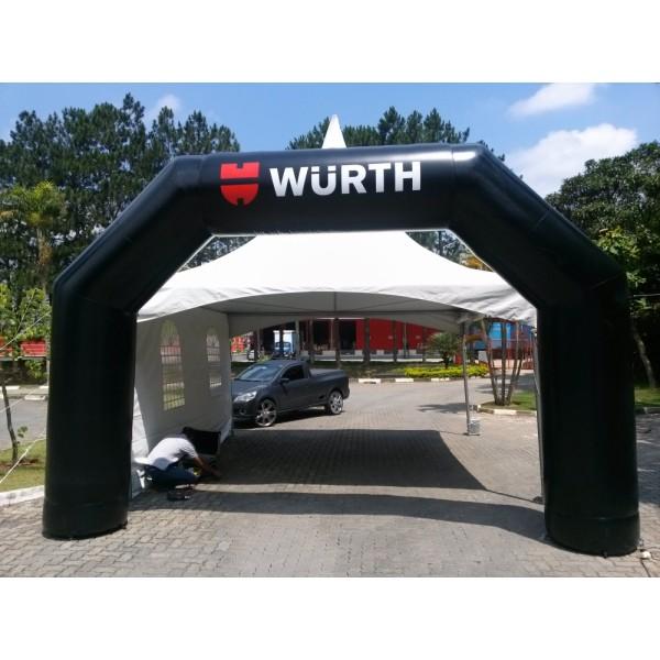 Valor de Portais em Ariranha - Portal Inflável para Eventos