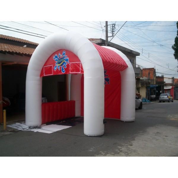 Valor de Tenda Jardim Liliza - Tenda Inflável