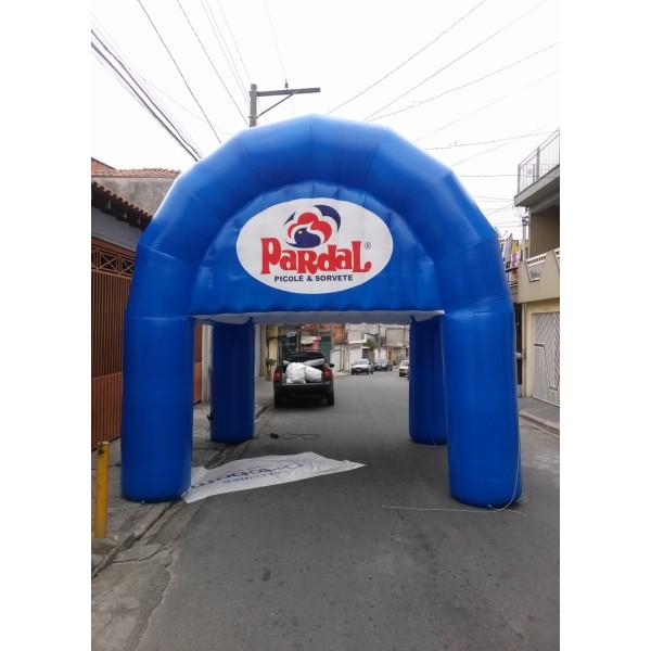 Valor de Tenda na Capivari - Tenda Inflável Preço