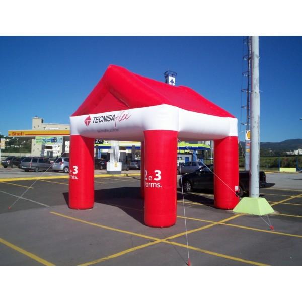 Valor de Tendas Infláveis na Campinas - Tenda Inflável em Natal