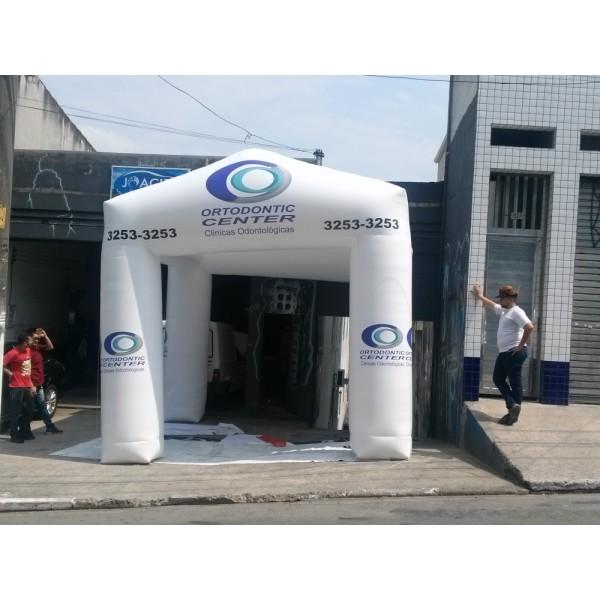 Valor de Tendas na Mazagão - Tenda Inflável em Brasília