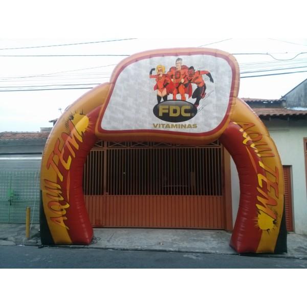 Valores de Portal Inflável em Uchoa - Portal Inflável em Salvador