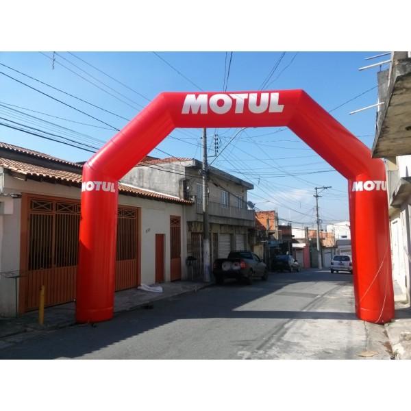 Valores de Portal na Condomínio Vista Alegre - Portal Inflável em Salvador